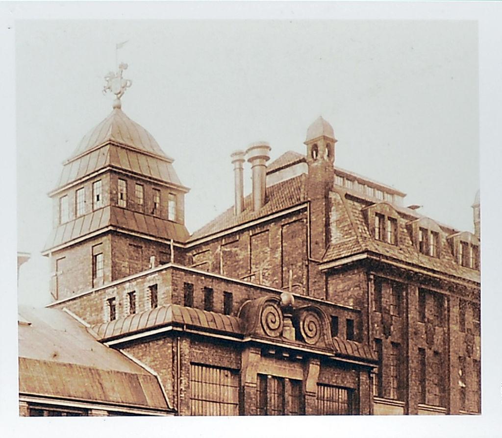 Die Holsten-Brauerei um 1880